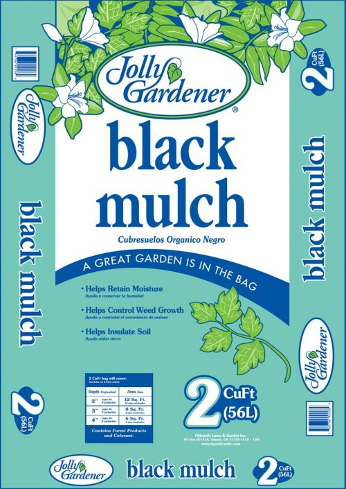 Black Mulch 2cf